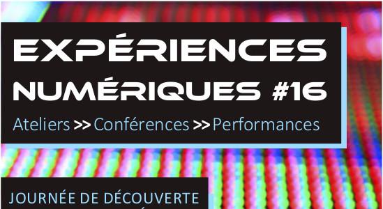 16e expériences numériques à Lyon